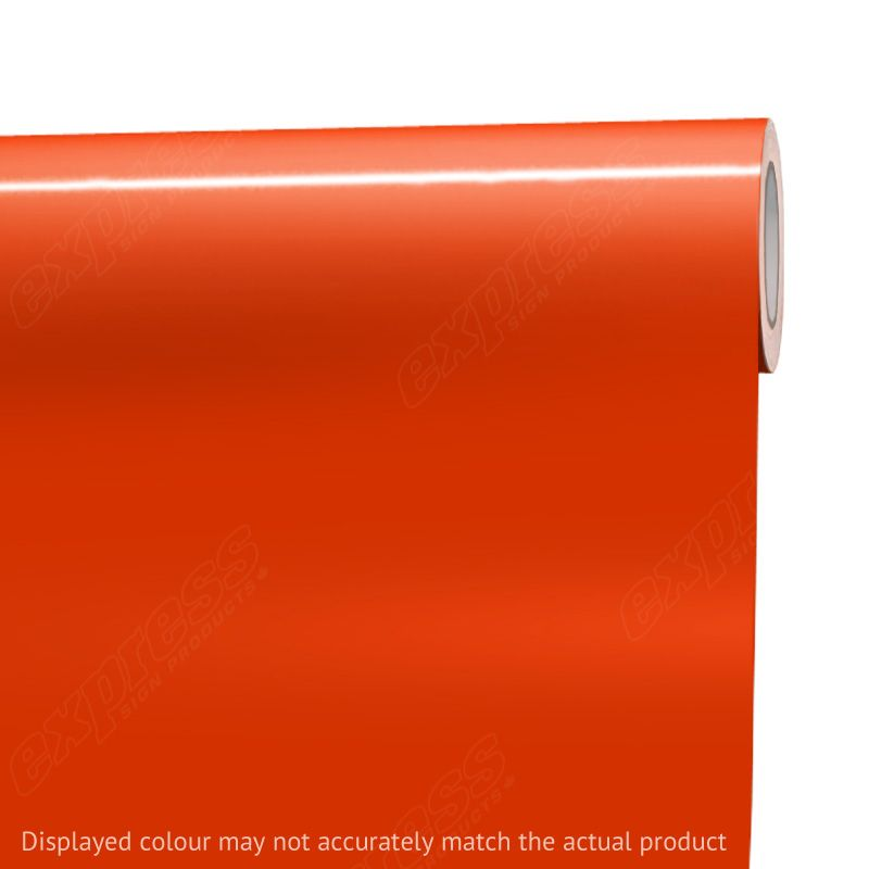 Oracal® 651 #047 Orange Red