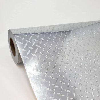 Gemstone Diamond Plate Silver 010
