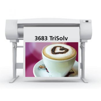 Sihl 3683 TriSolv™ PrimeArt Blueback PSA Semi-Gloss Paper
