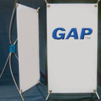 GAP Mini Banner Stand - 10in x 17in