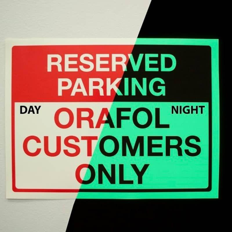 Orajet® 3930 Photoluminescent Vinyl