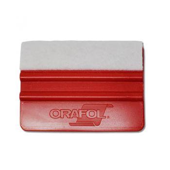 Orafol® Felt Edge Red Squeegee