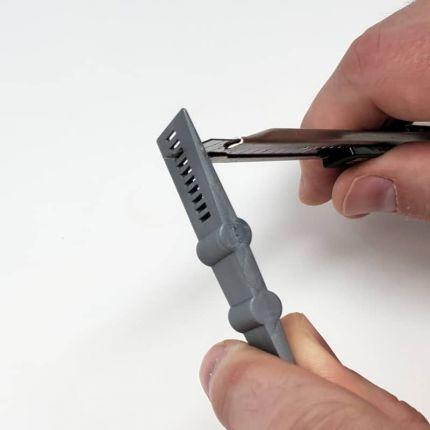 Mini Grey Squeegee w/ Cutting Slits