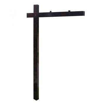 The Metal Man™ Aluminum Sign Hanger Post ALP-100