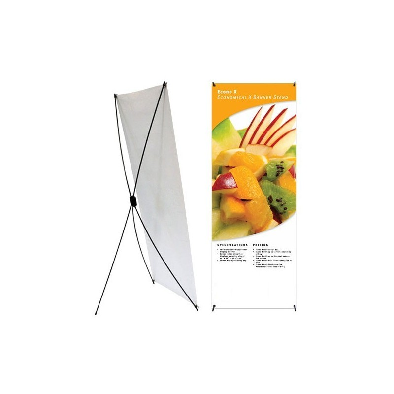 Econo Banner Stand w/ Bag (24in x 62.5in) - BSE-2463