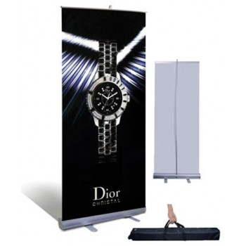 Roll Up Banner Stand w/ Bag (33in x 78in) - BSRU-3378