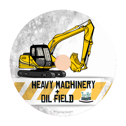 Top Hat Designs - Vector Heavy Machinery & Oil Field