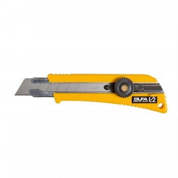 OLFA L-2 Heavy-Duty Cutter with Rubber Grip