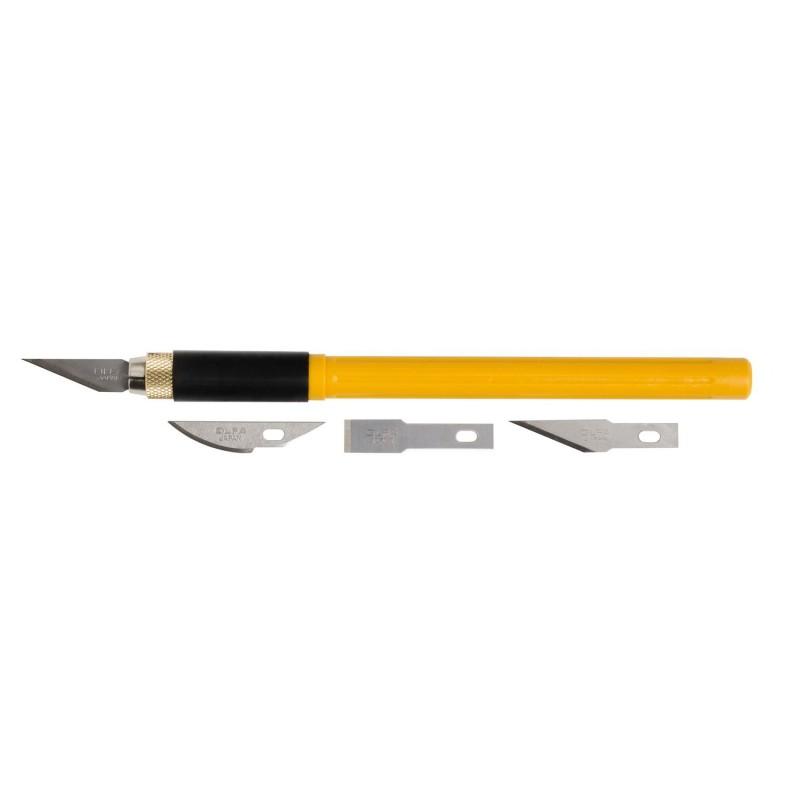 Olfa-AK-4-Precision Art Knife with 3 bla