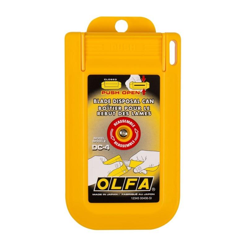 Olfa-DC-4-Blade Disposal Can -Snap-off b