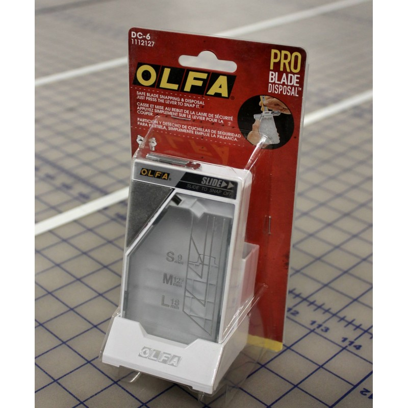 Olfa-DC-6 Desktop Blade Disposal System