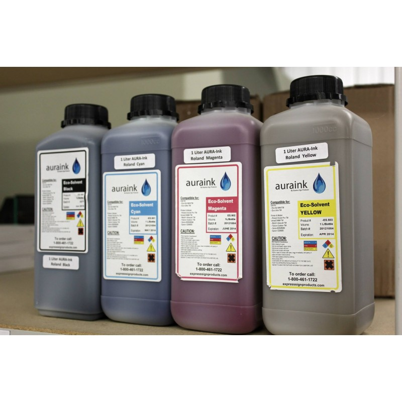 1 Liter AURA-Ink for Roland or Mutoh