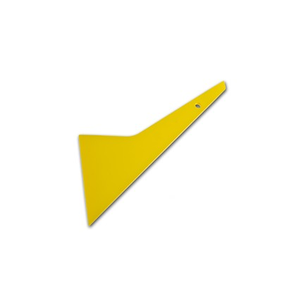 Quick Foot Hard Squeegee - Yellow (7in x 4in)