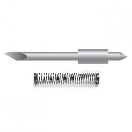 Prec. Carb. Cutter Blade - Graphtec Sandblast 60 Offset 0.45mm RED