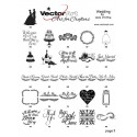 Vector Art for Crafters - Wedding Collections
