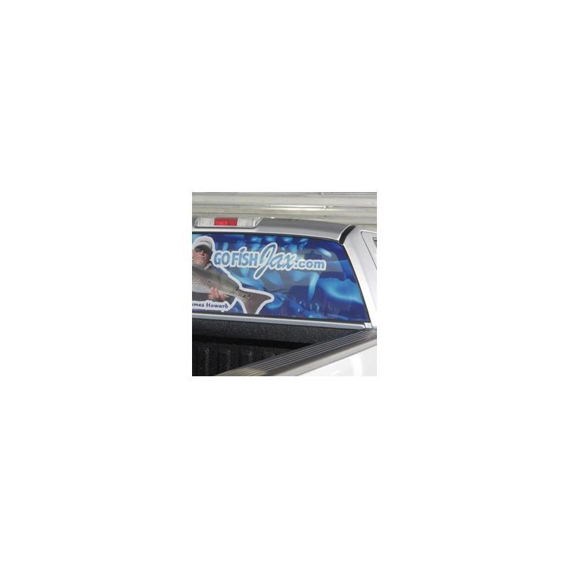 Orajet 3675 Perforated Window Graphics Pvc 50 50