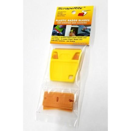 GAP Scraperite Plastic Razor Set