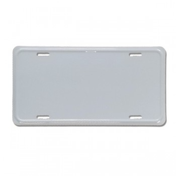 .025 Embossed Aluminum License Plates