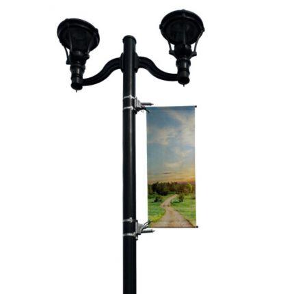 BannerSaver™ Wind-Spilling Banner Bracket