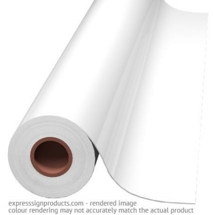 Calandered Vinyl Film - White Block-out 30in X 40 yds