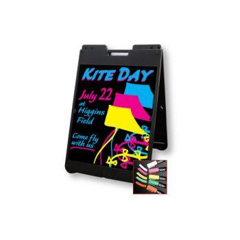 Marker Board Kit 8510 Black 22inW x 28inH