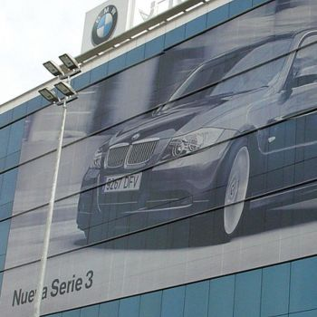 Orajet® 3676 60/40 Perforated Window Graphics