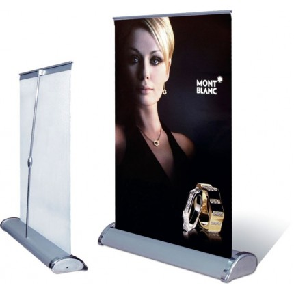 GAP Mini Roll Up Banner Stand - 11in x 15.5in