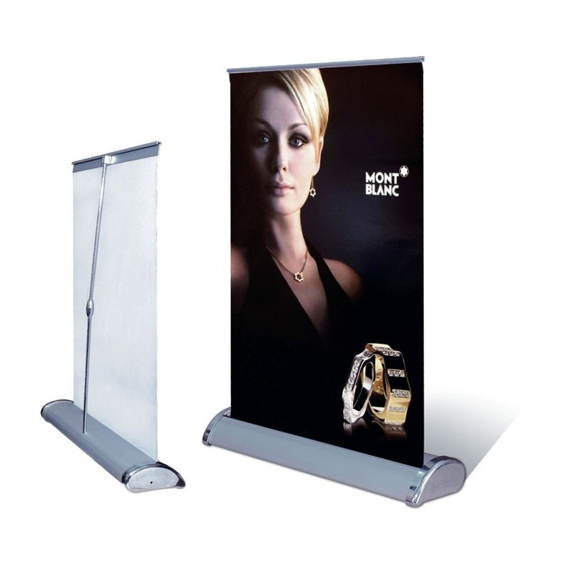 Banner stands online at express sign products for Stand roll up