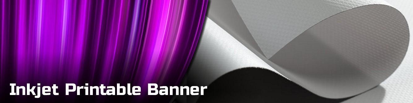 Inkjet Printable Banner Material