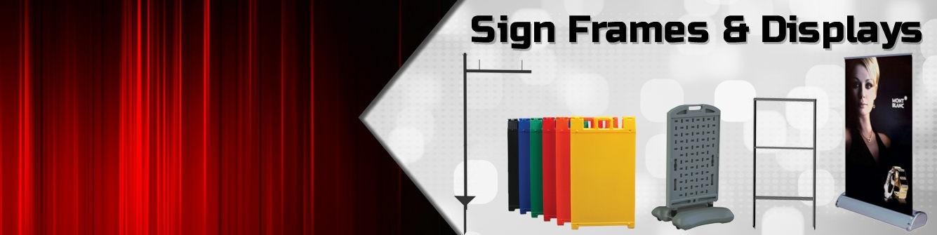 Sign Frames & Displays