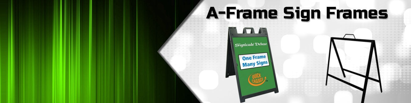 A-Frames Sign Frames - Express Sign Products