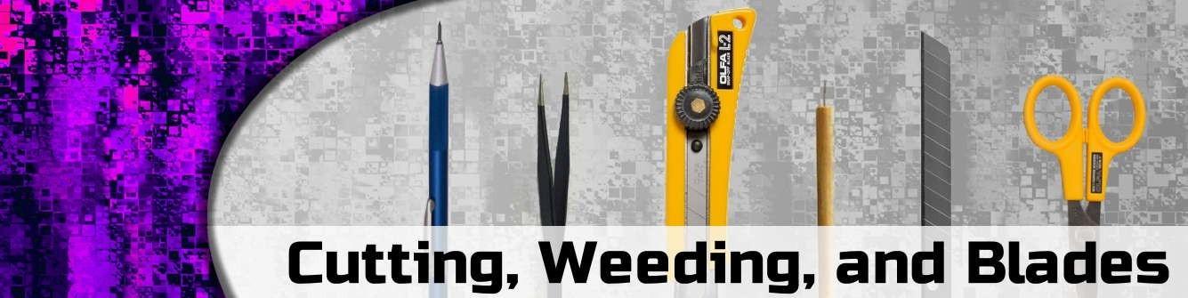 Cutting, Weeding, & Blades - Sign Tools