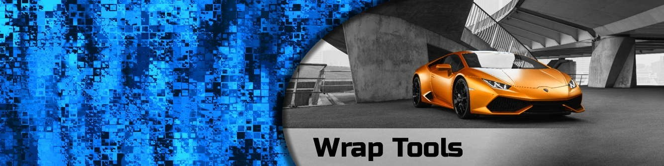 Wrap Tools for Installing Vehicle Wraps