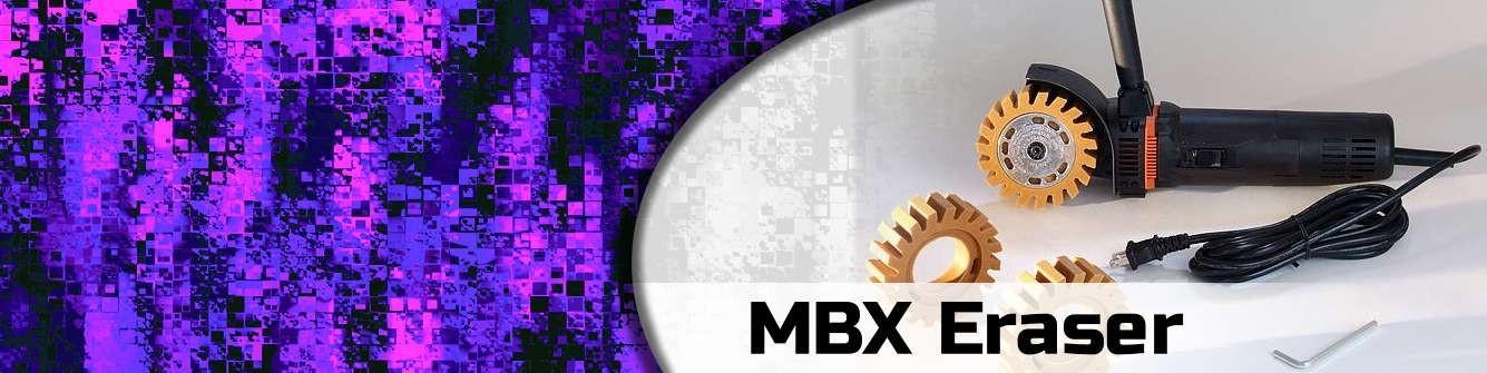 MBX Vinyl Erasers