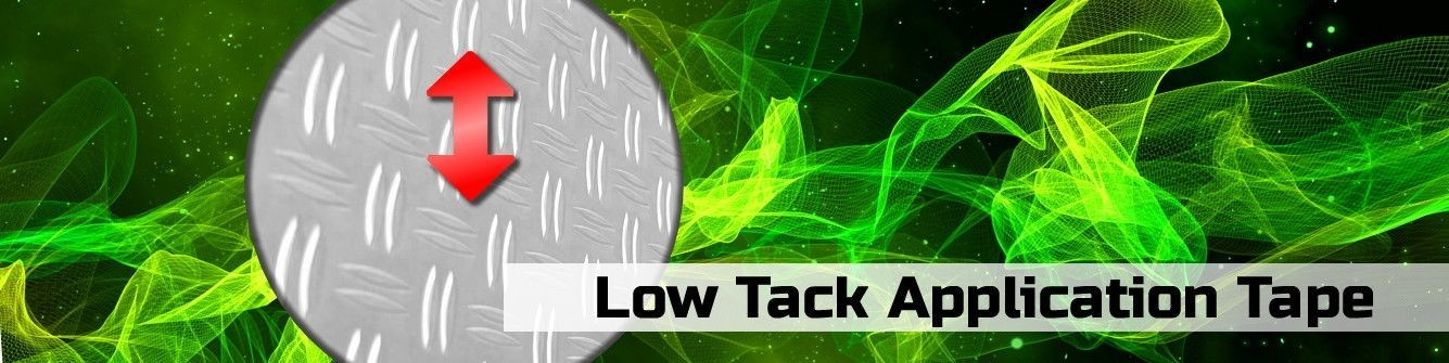 Low Tack Application Tape
