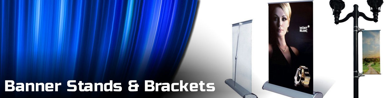 Banner Stands & Brackets - Express Sign Products