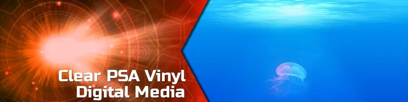 Clear PSA Vinyl - Digital Media - Express Sign Products
