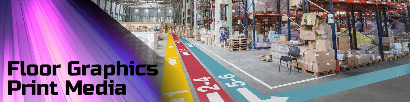 Floor Graphics Printable Media - Express Sign Products