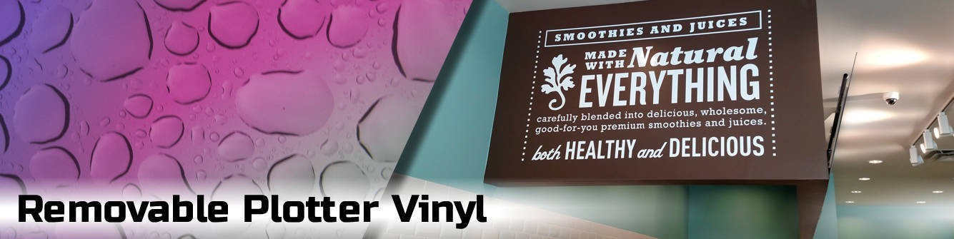 Removable Adhesive Vinyl - Express Sign Products