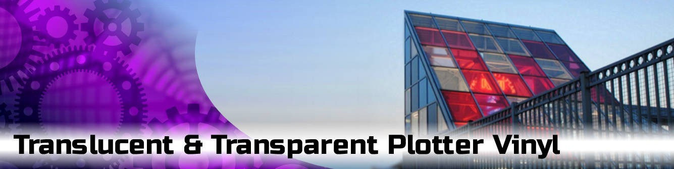 Translucent & Transparent Plotter Vinyl