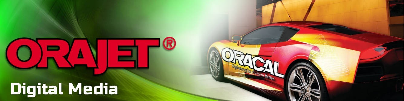 ORAJET® Digital Media Vinyl - Express Sign Products